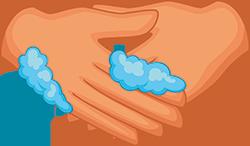 handen wassen is een belangrijk onderdeel in de bescherming tegen corona virus